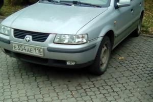 Автомобиль Iran Khodro Samand, хорошее состояние, 2007 года выпуска, цена 150 000 руб., Нижнекамск
