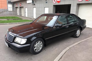Подержанный автомобиль Mercedes-Benz S-Класс, отличное состояние, 1996 года выпуска, цена 850 000 руб., Балашиха