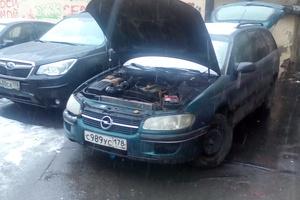Автомобиль Opel Omega, среднее состояние, 1996 года выпуска, цена 60 000 руб., Санкт-Петербург