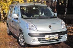 Автомобиль Renault Kangoo, хорошее состояние, 2011 года выпуска, цена 430 000 руб., Челябинск