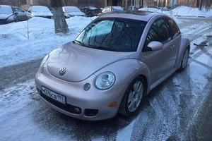 Автомобиль Volkswagen New Beetle, хорошее состояние, 2002 года выпуска, цена 550 000 руб., Реутов