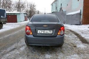 Подержанный автомобиль Chevrolet Aveo, отличное состояние, 2013 года выпуска, цена 430 000 руб., Воскресенск