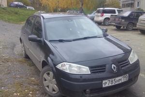 Подержанный автомобиль Renault Megane, хорошее состояние, 2005 года выпуска, цена 240 000 руб., Златоуст