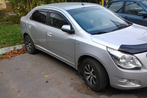 Подержанный автомобиль Chevrolet Cobalt, отличное состояние, 2013 года выпуска, цена 390 000 руб., Челябинск