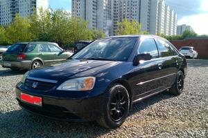 Подержанный автомобиль Honda Civic, отличное состояние, 2001 года выпуска, цена 210 000 руб., Красногорск