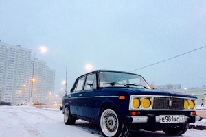 Автомобиль ВАЗ (Lada) 2106, среднее состояние, 2001 года выпуска, цена 110 000 руб., Москва