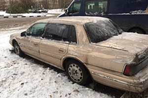 Автомобиль Lincoln Continental, среднее состояние, 1989 года выпуска, цена 63 999 руб., Москва