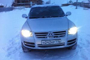 Подержанный автомобиль Volkswagen Touareg, хорошее состояние, 2006 года выпуска, цена 600 000 руб., Набережные Челны