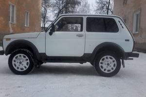 Подержанный автомобиль ВАЗ (Lada) 4x4, хорошее состояние, 2001 года выпуска, цена 125 000 руб., Челябинск