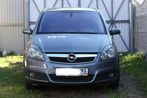 Автомобиль Opel Zafira, хорошее состояние, 2007 года выпуска, цена 420 000 руб., Краснодар