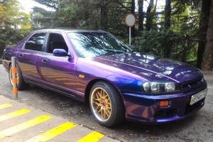 Автомобиль Nissan Skyline, хорошее состояние, 1993 года выпуска, цена 450 000 руб., Сочи