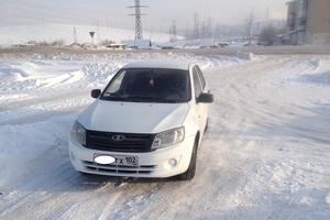 Подержанный автомобиль ВАЗ (Lada) Granta, хорошее состояние, 2012 года выпуска, цена 190 000 руб., Сатка