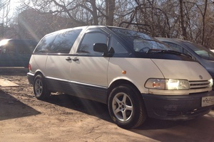 Автомобиль Toyota Previa, среднее состояние, 1996 года выпуска, цена 200 000 руб., Москва