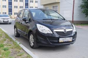 Подержанный автомобиль Opel Meriva, отличное состояние, 2011 года выпуска, цена 500 000 руб., Ханты-Мансийск
