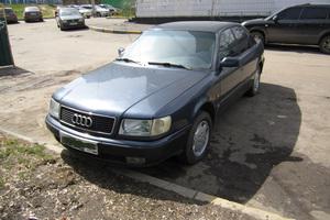 Автомобиль Audi 100, среднее состояние, 1992 года выпуска, цена 150 000 руб., Москва
