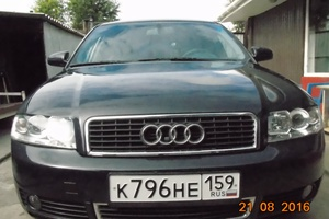 Подержанный автомобиль Audi A4, отличное состояние, 2002 года выпуска, цена 350 000 руб., Красноярск