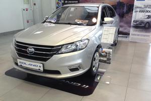 Авто Lifan Solano, 2016 года выпуска, цена 539 000 руб., Санкт-Петербург