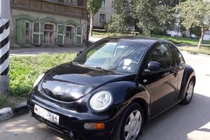 Автомобиль Volkswagen New Beetle, хорошее состояние, 1999 года выпуска, цена 200 000 руб., Саратов