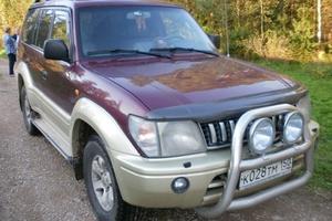 Подержанный автомобиль Toyota Land Cruiser Prado, хорошее состояние, 1997 года выпуска, цена 480 000 руб., Солнечногорск