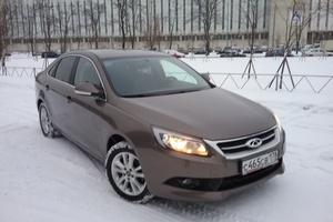 Автомобиль Chery Arrizo 7, хорошее состояние, 2014 года выпуска, цена 500 000 руб., Санкт-Петербург