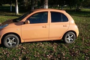Автомобиль Nissan March, хорошее состояние, 2002 года выпуска, цена 220 000 руб., республика Адыгея