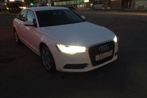 Подержанный автомобиль Audi A6, отличное состояние, 2011 года выпуска, цена 1 300 000 руб., Челябинск