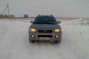 Автомобиль Hyundai Santa Fe, отличное состояние, 2003 года выпуска, цена 280 000 руб., Челябинск