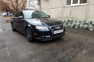 Подержанный автомобиль Audi A4, отличное состояние, 2007 года выпуска, цена 735 000 руб., Краснодар