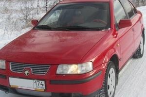 Подержанный автомобиль Iran Khodro Samand, хорошее состояние, 2006 года выпуска, цена 155 000 руб., Челябинск