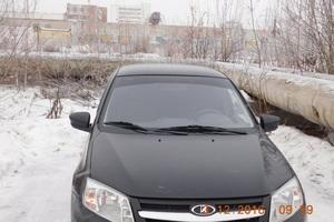 Подержанный автомобиль ВАЗ (Lada) Granta, отличное состояние, 2014 года выпуска, цена 310 000 руб., Озерск
