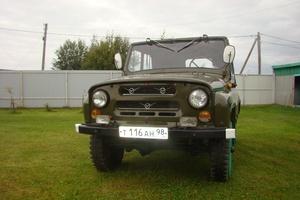 Автомобиль УАЗ 3151, хорошее состояние, 1995 года выпуска, цена 285 000 руб., Санкт-Петербург
