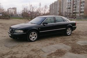 Подержанный автомобиль Audi A8, среднее состояние, 2002 года выпуска, цена 400 000 руб., Краснодар