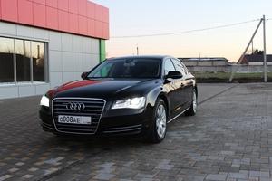 Подержанный автомобиль Audi A8, отличное состояние, 2012 года выпуска, цена 1 850 000 руб., Краснодар