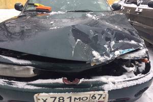 Подержанный автомобиль Mitsubishi Galant, битый состояние, 1994 года выпуска, цена 30 000 руб., Смоленская область