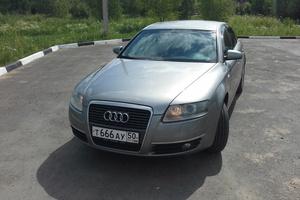 Подержанный автомобиль Audi A6, отличное состояние, 2006 года выпуска, цена 580 000 руб., Пущино