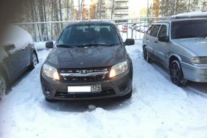 Подержанный автомобиль ВАЗ (Lada) Granta, отличное состояние, 2015 года выпуска, цена 350 000 руб., Челябинск