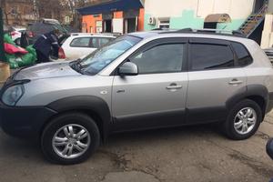 Автомобиль Hyundai Tucson ix, хорошее состояние, 2007 года выпуска, цена 514 000 руб., Крым