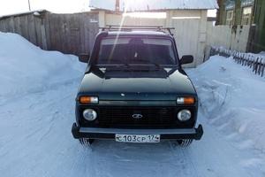 Подержанный автомобиль ВАЗ (Lada) 4x4, отличное состояние, 2013 года выпуска, цена 350 000 руб., Челябинск