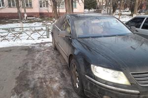 Автомобиль Volkswagen Phaeton, хорошее состояние, 2008 года выпуска, цена 585 000 руб., Москва и область