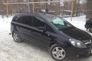 Подержанный автомобиль Opel Zafira, хорошее состояние, 2007 года выпуска, цена 415 000 руб., Челябинск