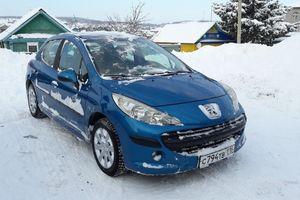 Подержанный автомобиль Peugeot 207, отличное состояние, 2008 года выпуска, цена 310 000 руб., Казань