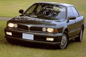 Автомобиль Mitsubishi Diamante, среднее состояние, 1990 года выпуска, цена 67 000 руб., Абакан