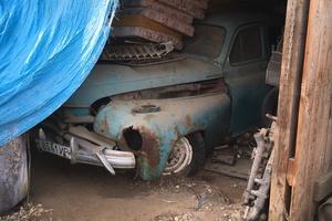 Автомобиль ГАЗ М-20 Победа, среднее состояние, 1950 года выпуска, цена 70 000 руб., Иркутск