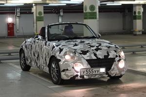 Автомобиль Daihatsu Copen, отличное состояние, 2003 года выпуска, цена 365 000 руб., Красноярск