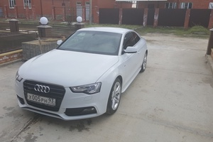 Автомобиль Audi A5, отличное состояние, 2015 года выпуска, цена 2 150 000 руб., Краснодар