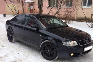Подержанный автомобиль Audi A4, хорошее состояние, 2003 года выпуска, цена 340 000 руб., Клин