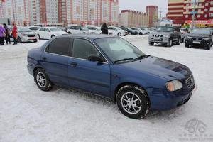 Авто Suzuki Baleno, 2001 года выпуска, цена 175 000 руб., Тюмень