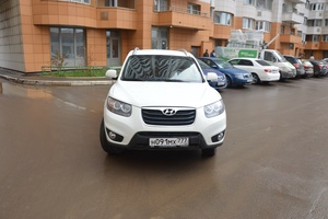 Подержанный автомобиль Hyundai Santa Fe, отличное состояние, 2010 года выпуска, цена 910 000 руб., Одинцово