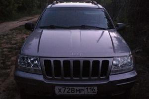 Подержанный автомобиль Jeep Grand Cherokee, хорошее состояние, 1999 года выпуска, цена 390 000 руб., Казань