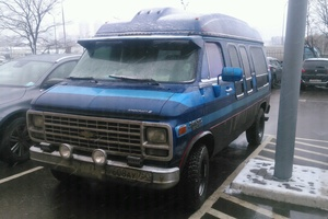 Автомобиль Chevrolet Van, хорошее состояние, 1992 года выпуска, цена 300 000 руб., Москва